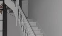 trap met bovenkwart